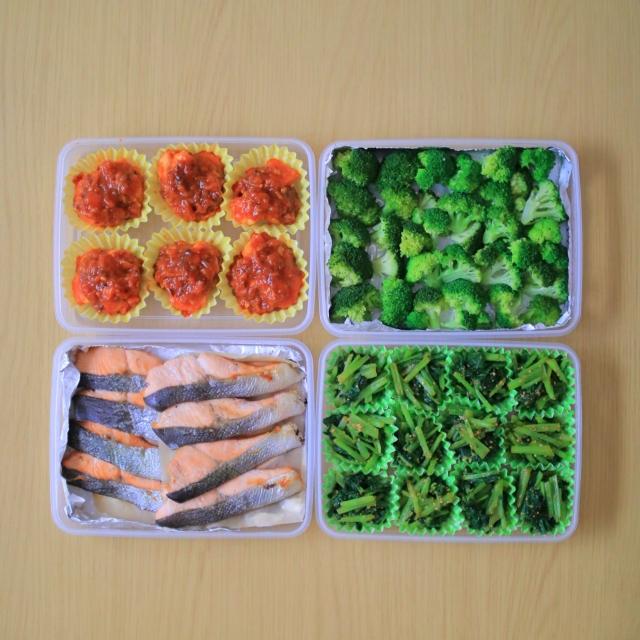 お弁当のおかずを冷凍保存