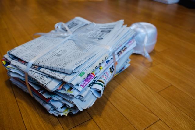 新聞古紙と織り込みチラシはムダの象徴