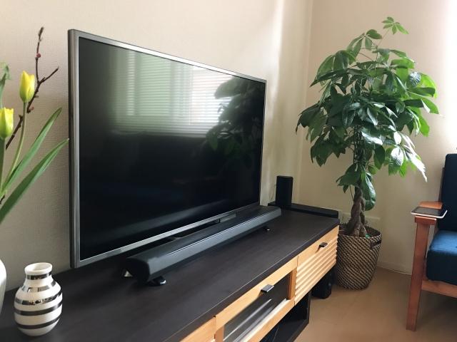 テレビとスピーカーセット