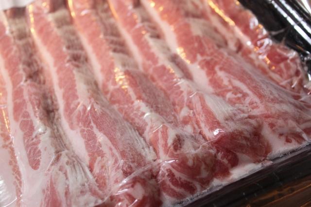 豚バラ肉の冷凍保存